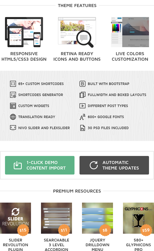Septimus WordPress Theme